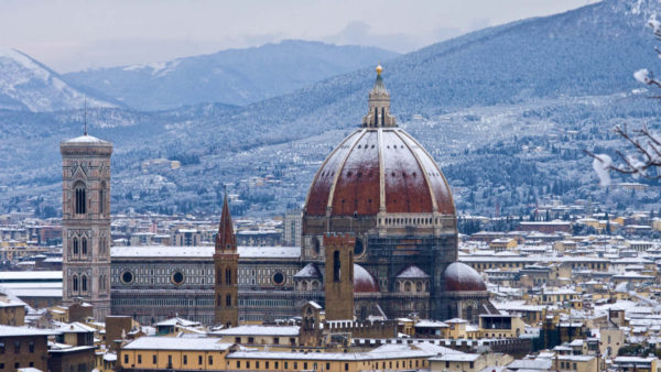 Florence under the snow - by Simon, Flickr CC