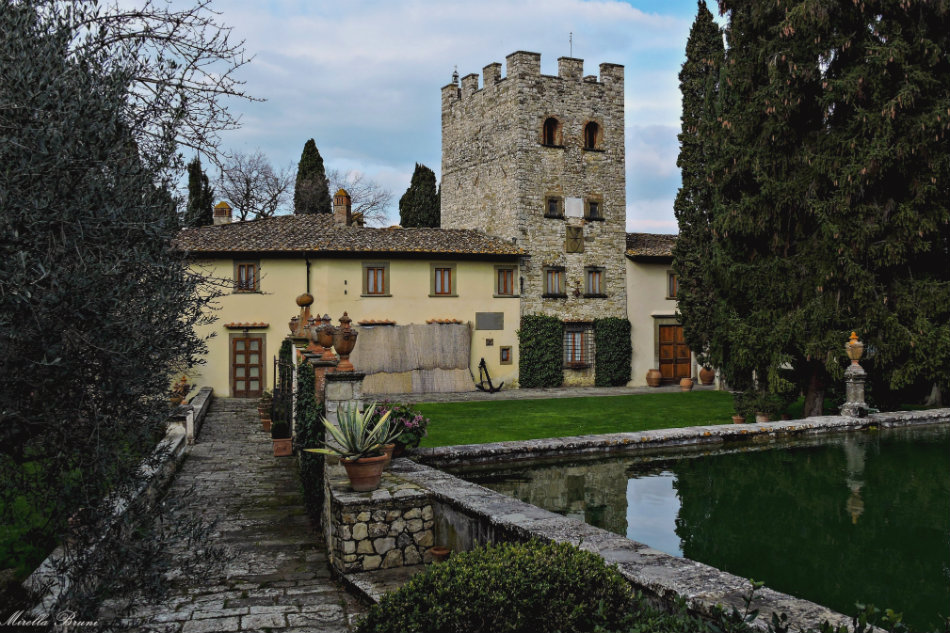 Castello di Verrazzano - Around Greve in Chianti