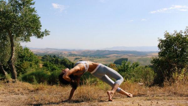 Yoga Time at Viticcio